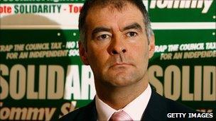 Solidarity co-convenor, Tommy Sheridan