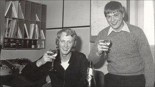 Simon Shaw and Paul Baird