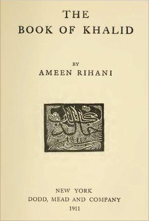 Cover of The Book of Khalid, 1911