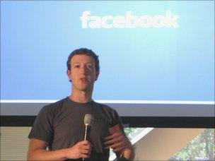 Mark Zuckerberg talking about data centres