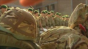Royal Marines leaving 42 Commando for Afghanistan deployment