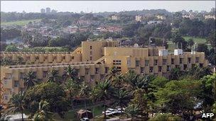 Golf Hotel, Abidjan (file photo: 2010)