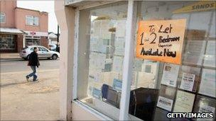 Estate agents in the town of Jaywick which has been named as the most deprived place in England