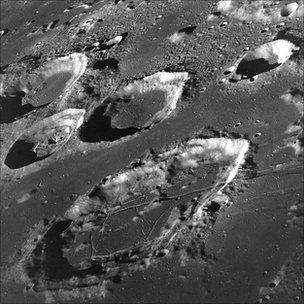 Apollo 8 picture of the lunar far side