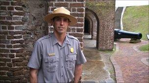 Park Ranger Nate Johnson