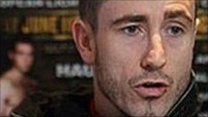 European light-welterweight champion Paul McCloskey
