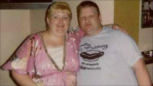 Denise and Craig Watson before the weight loss surgery in 2005