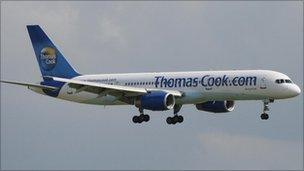 A Thomas Cook Boeing 757-200