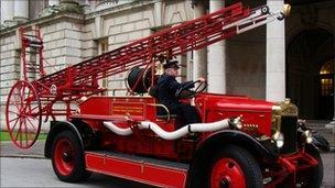 Fire engine Blitz