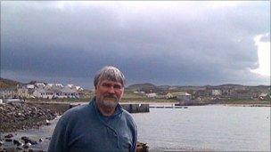 Richard Green on Rathlin Island