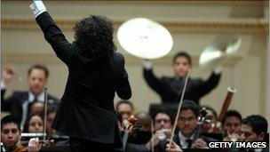 Simon Bolivar Symphony Orchestra, conducted by Gustavo Dudamel