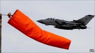 RAF Tornado at Lossiemouth