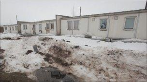 Asylum centre in Ochyor, Russia