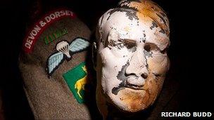Hitler's bust