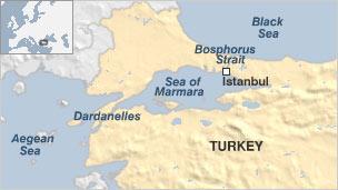 turkey to build waterway to bypass bosphorus straits bbc news