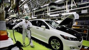 Car manufacturing unit