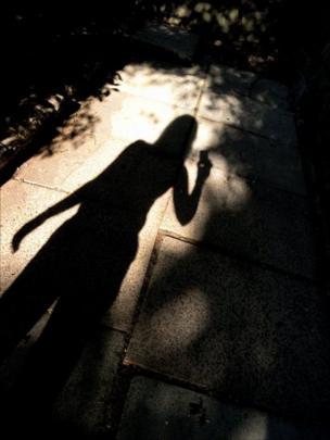 Self portrait - shadow