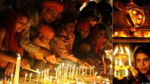 Indians celebrate Diwali
