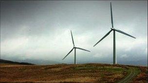 wind turbines generic