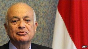 Egyptian Foreign Minister Nabil al-Araby