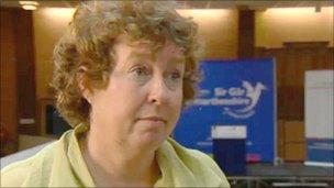 Plaid Cymru deputy leader Helen Mary Jones
