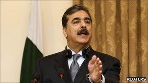 Pakistani Prime Minister Yusuf Raza Gilani in Kabul, Afghanistan - photo 16 April