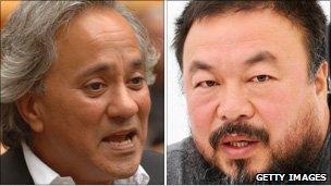 Anish Kapoor and Ai Weiwei