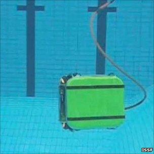 ROV under test