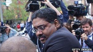 Raj Rajaratnam following the verdict