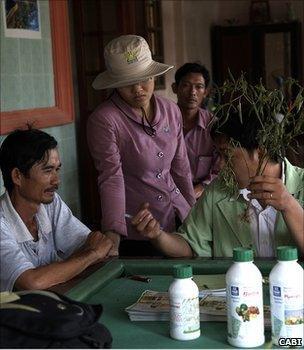 Plant clinic, Vietnam (Image: Cabi)