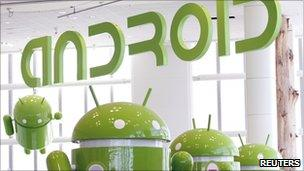 Android mascots, Reuters