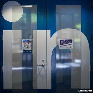 Image from LinkedIn's headquarters