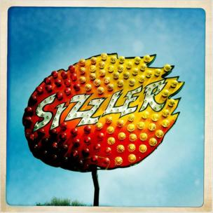 Sizzler sign