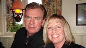 Eileen McNaughton with her husband Neil