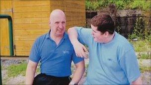 Mark (left) and Steven Neary