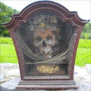 St Vitalis skull