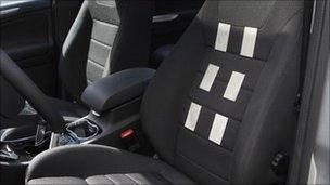 The prototype car seat