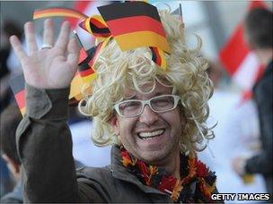 German fan at Eurovision