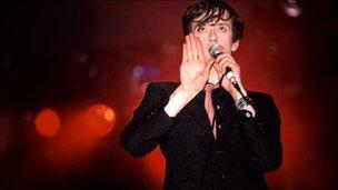 Pulp at Glastonbury, 1995