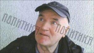 Ratko Mladic on 26 May 2011 (Courtesy of Serbian newspaper Politika)