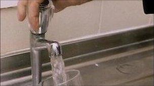 Water tap - generic image