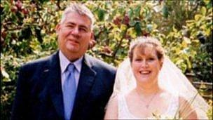 Mervyn Elkington with his daughter Louise Norton