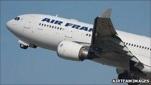 F-GZCP, the Air France jet which crashed en route from Brazil, in an undated image (photo: AirTeamImages)
