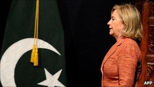 Hillary Clinton in Pakistan