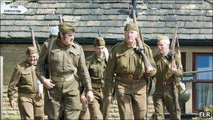 WWI home front soldiers