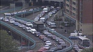 Belfast traffic disruption