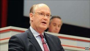 HSBC chairman Douglas Flint at the AGM