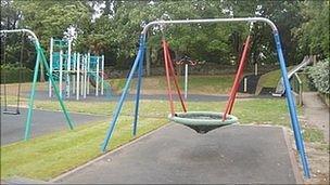 Beau Sejour children's play area