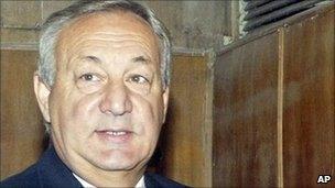 Sergei Bagapsh, file pic