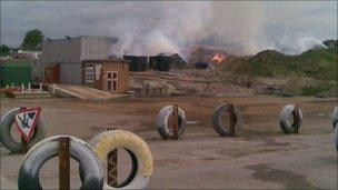 Little Waltham fire